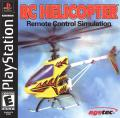 RC Helicopter PlayStation Front Cover