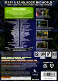 Rock Band 2 Xbox 360 Back Cover