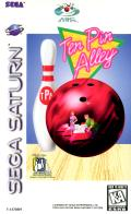 Ten Pin Alley SEGA Saturn Front Cover