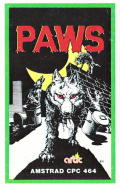 Paws Amstrad CPC Front Cover