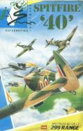 Spitfire '40 ZX Spectrum Front Cover