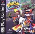 Crash Bandicoot: Warped PlayStation Front Cover