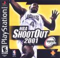 NBA Shootout 2001 PlayStation Front Cover