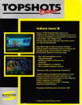 Indiana Jones and The Last Crusade: The Graphic Adventure DOS Back Cover