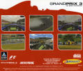 Grand Prix 3 Windows Other Jewel Case - Back