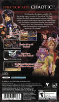 Generation of Chaos PSP Back Cover
