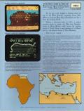 Knights of the Desert: The North African Campaign of 1941-43 Atari 8-bit Back Cover