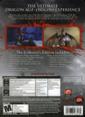 Dragon Age: Origins (Collector's Edition) Windows Back Cover