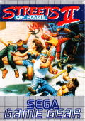 Streets of Rage 2 Game Gear Front Cover