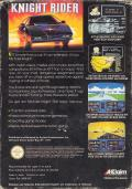 Knight Rider NES Back Cover