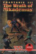 Phantasie III : The Wrath of Nikademus Apple II Front Cover