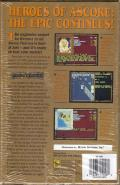 Treasures of the Savage Frontier Amiga Back Cover