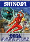 Shinobi Game Gear Front Cover