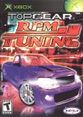 Top Gear RPM Tuning Xbox Front Cover