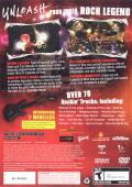 Guitar Hero III: Legends of Rock PlayStation 2 Other Keep Case - Back
