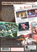 Mana Khemia: Alchemists of Al-Revis PlayStation 2 Back Cover