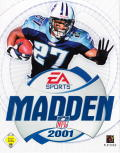 Madden NFL 2001 Windows Front Cover