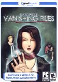 Cate West: The Vanishing Files Windows Front Cover