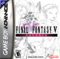 Final Fantasy V Game Boy Advance Front Cover