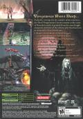 Castlevania: Curse of Darkness Xbox Back Cover