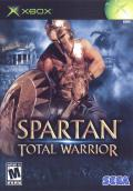 Spartan: Total Warrior Xbox Front Cover