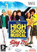 High School Musical: Sing It! Wii Front Cover