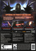 Star Wars: The Force Unleashed (Ultimate Sith Edition) Windows Other Keep Case - Back
