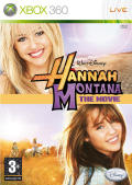Hannah Montana: The Movie Xbox 360 Front Cover