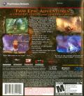 God of War Collection PlayStation 3 Back Cover