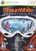 Shaun White Snowboarding Xbox 360 Front Cover