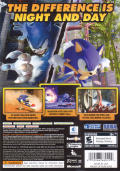 Sonic Unleashed Xbox 360 Back Cover