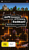 Holy Invasion of Privacy, Badman! What Did I Do to Deserve This? PSP Front Cover