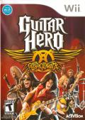 Guitar Hero: Aerosmith Wii Front Cover