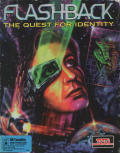 Flashback: The Quest for Identity DOS Front Cover