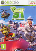 Planet 51: The Game Xbox 360 Front Cover