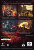 Prince of Persia: Warrior Within Windows Back Cover