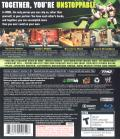 WWE Smackdown vs. Raw 2009 PlayStation 3 Back Cover