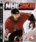 NHL 2K8 PlayStation 3 Front Cover