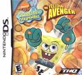 SpongeBob SquarePants: The Yellow Avenger Nintendo DS Front Cover