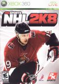 NHL 2K8 Xbox 360 Front Cover
