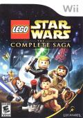LEGO Star Wars: The Complete Saga Wii Front Cover