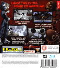 Afro Samurai PlayStation 3 Back Cover
