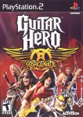 Guitar Hero: Aerosmith PlayStation 2 Front Cover
