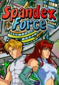 Spandex Force Macintosh Front Cover