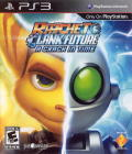 Ratchet & Clank Future: A Crack in Time PlayStation 3 Front Cover