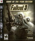 Fallout 3: Game of the Year Edition PlayStation 3 Other Keep Case Front