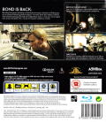 007: Quantum of Solace PlayStation 3 Back Cover
