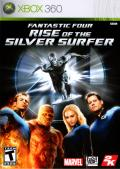 Fantastic Four: Rise of the Silver Surfer Xbox 360 Front Cover