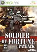 Soldier of Fortune: Payback Xbox 360 Front Cover