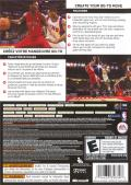 NBA Live 08 Xbox 360 Back Cover